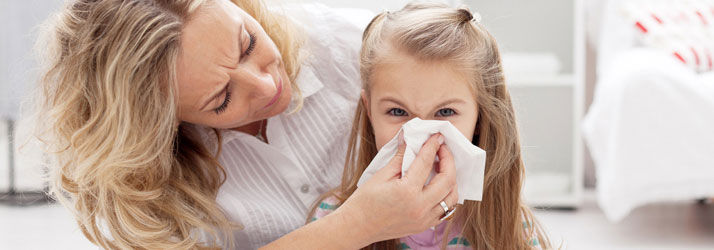 Chiropractic Ringgold GA Child Blowing Nose