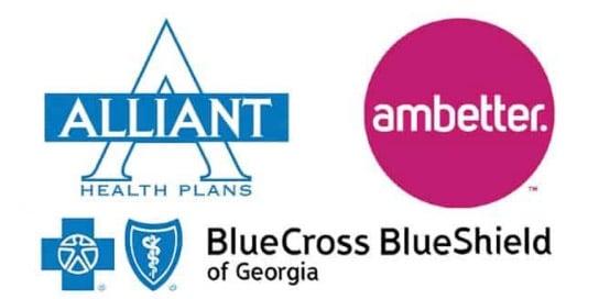 Chiropractic Ringgold GA Insurance Logos