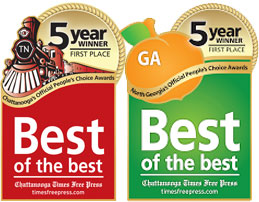 Chiropractic Ringgold GA Best of the Best TN and GA